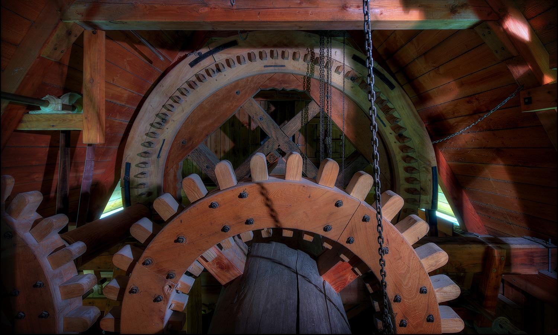 Marzahner Mühle - Flügelwelle