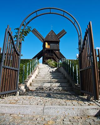 Hochzeitstreppe mit Portal