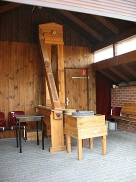 Mühlenhütte der Bockwindmühle Marzahn