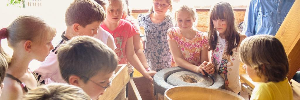 Erlebnisführungen Bockwindmühle Marzahn